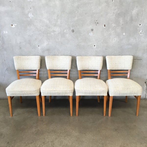 Set of Four Mid Century Dining Chairs