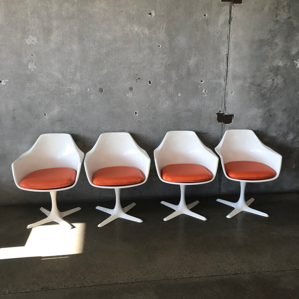 Mid Century Modern Dining Chairs by Burke