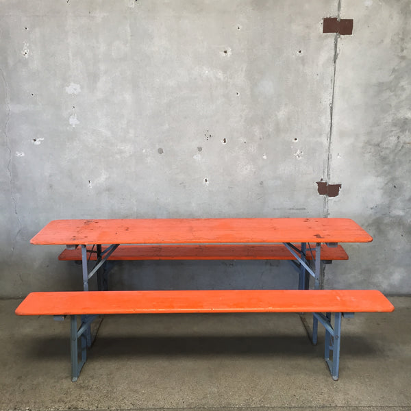 Orange Beer Garden Set