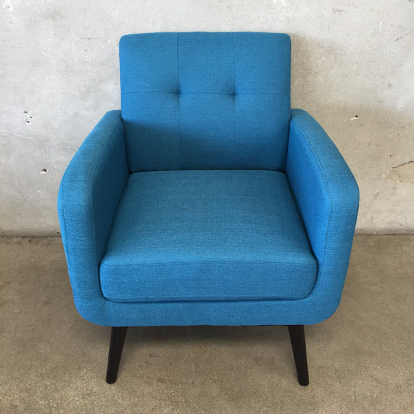 Teal Mid Century Modern Chair