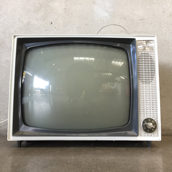 Vintage Black & White New Vista Television by RCA