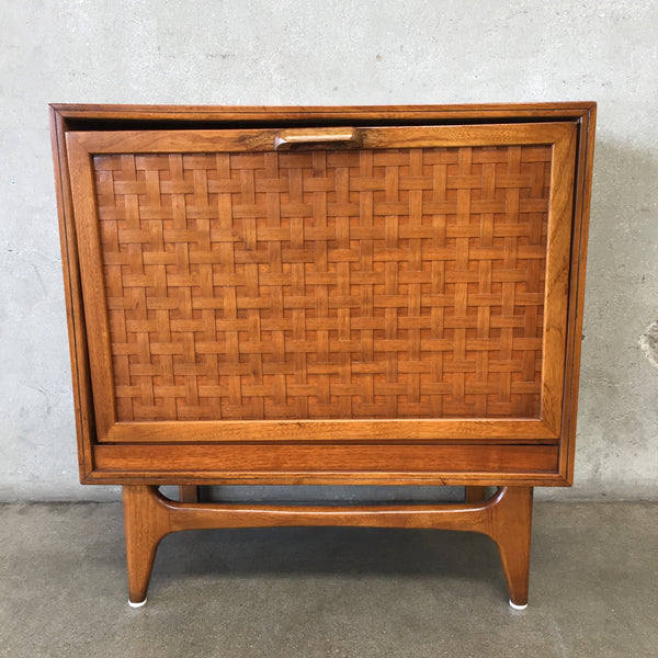 Mid Century Lane Perception Record Cabinet