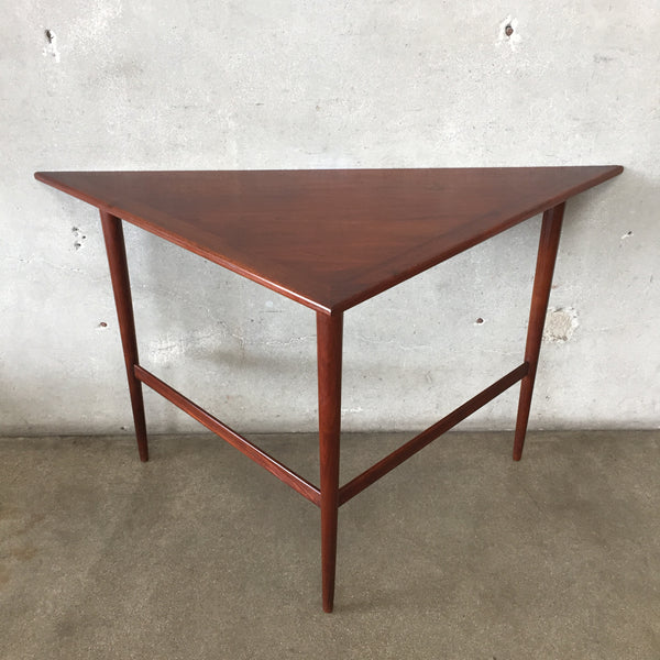 Mid Century Triangle Table