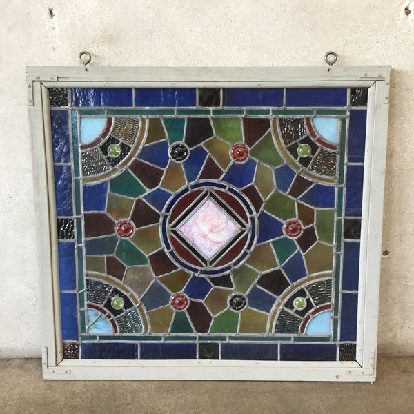 1900's Leaded Glass Window