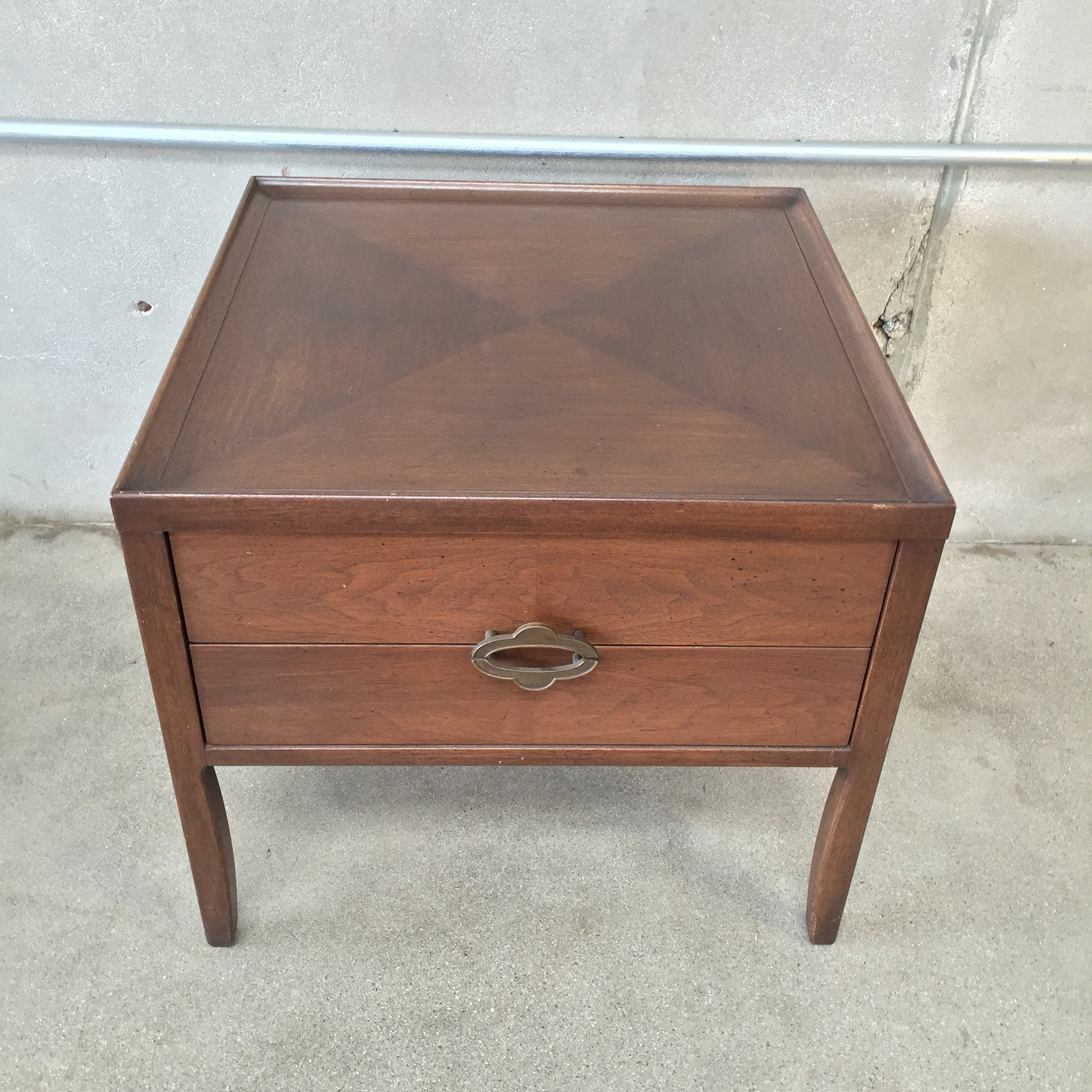2 Drawer Asian Side Table by Henredon circa 50 s – UrbanAmericana