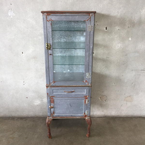1920's Industrial Doctor's Medical Cabinet