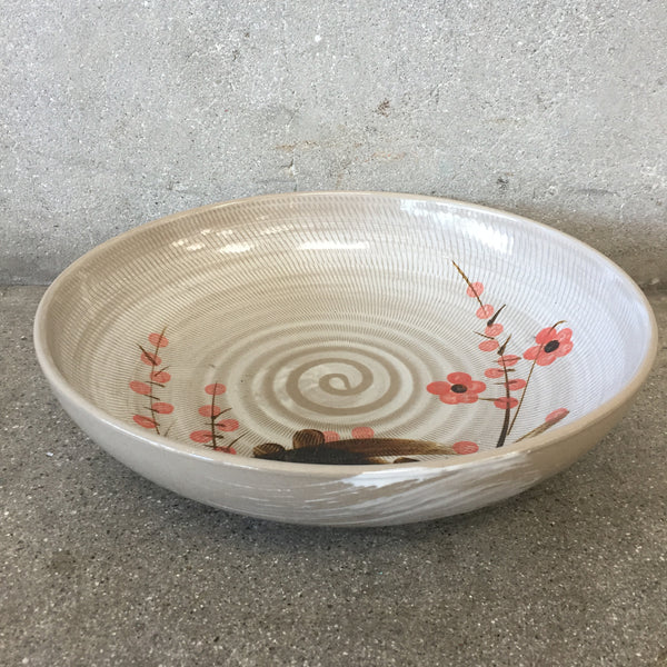 1960's Japanese Studio Cherry Blossom Bowl