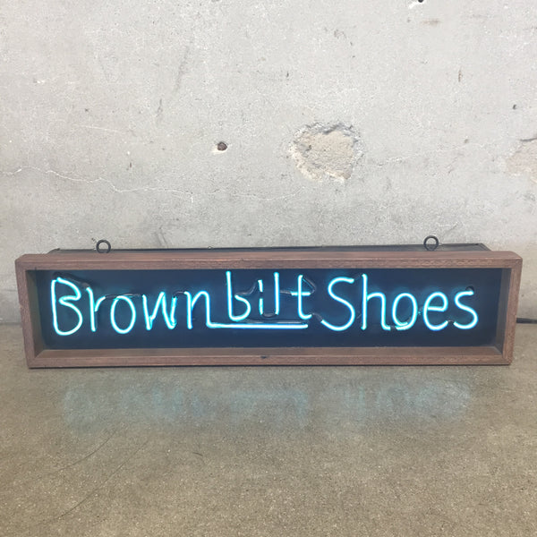 Brown-Bilt-Shoes Neon Sign