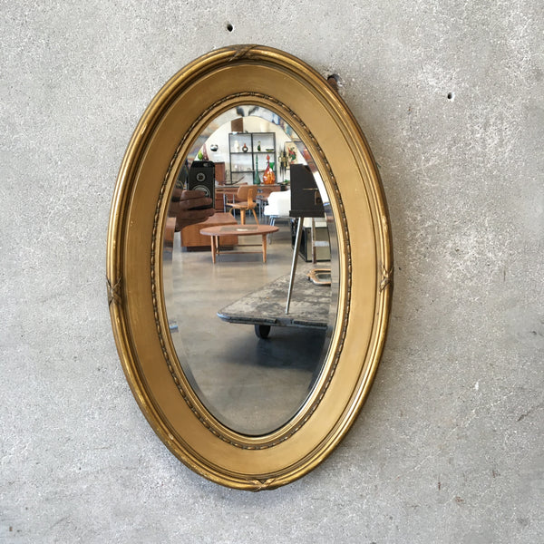 1950's Oval Mirror