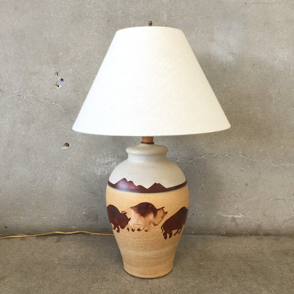 Southwestern Table Lamp