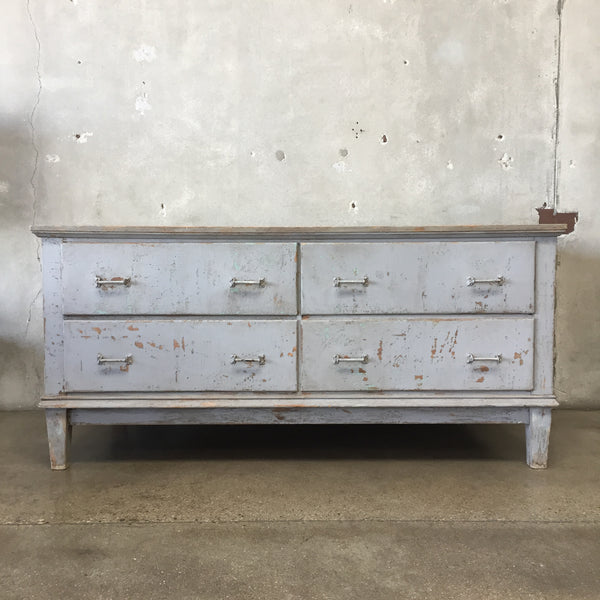 Rachel Ashwell Large Rustic Four Drawer Cabinet