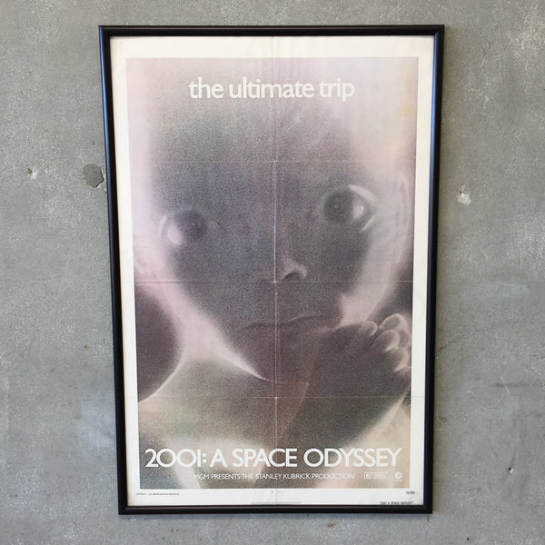 Original 2001 A Space Odyssey Framed Poster