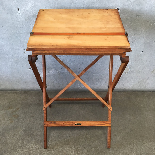 Vintage Dietzgen Stand and Dietzgen Portable Drawing Board