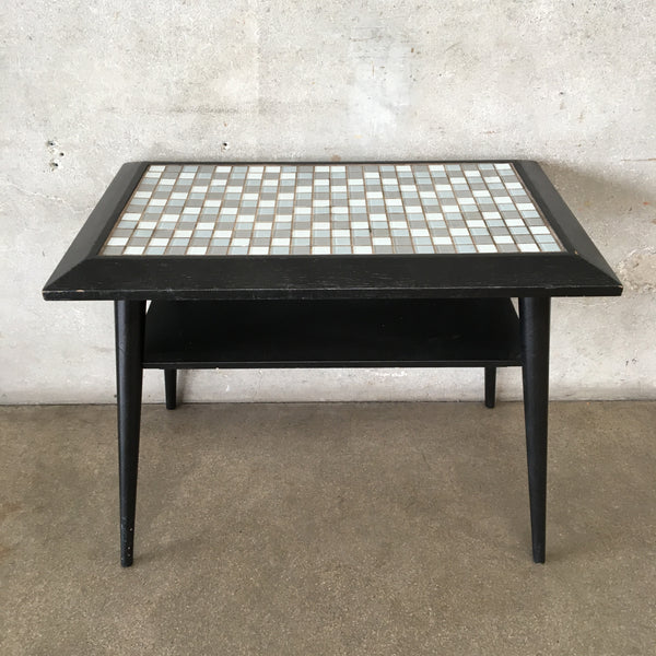 Mosaic Spindle Table