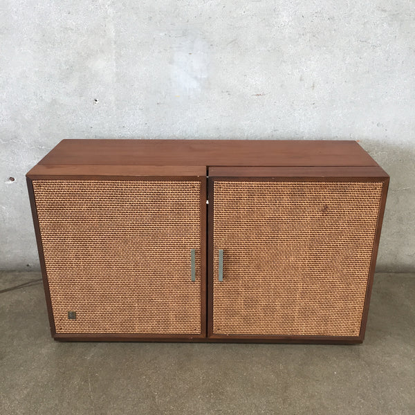 Mid Century Modern General Electric FM/ AM Stereo Cabinet