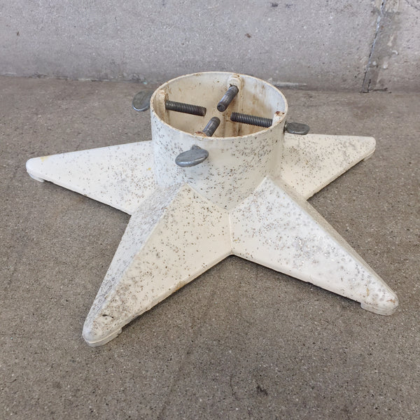 Vintage 1950's Glitter Christmas Tree Stand