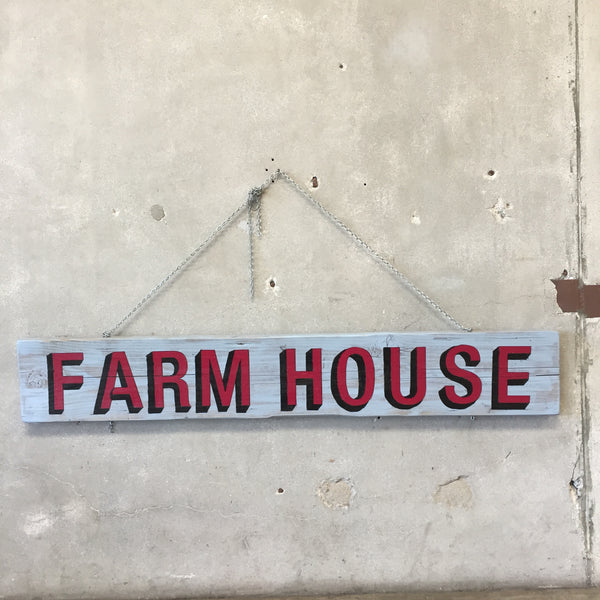 Custom Made Extra Large Farmhouse Sign