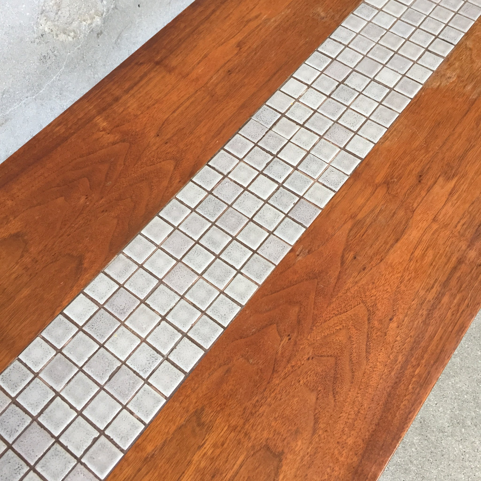 Mid Century Inlaid Tile Top Coffee Table by Lane UrbanAmericana