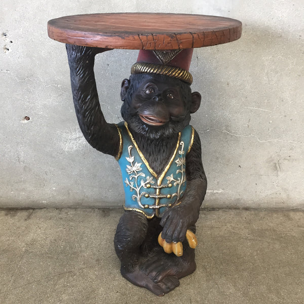 Plaster Monkey Table