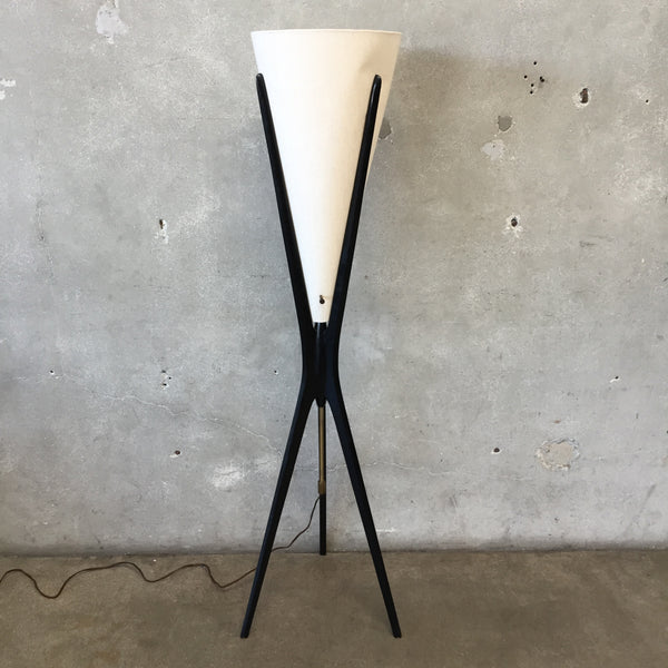 Mid Century Sculptural Floor Lamp