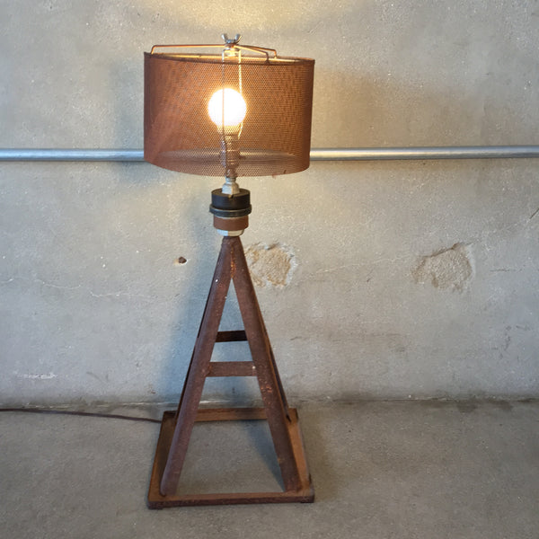 Vintage Jack Stand Table Lamp