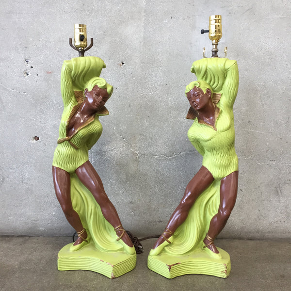 Pair of 1952 Stern Vintage Lamps