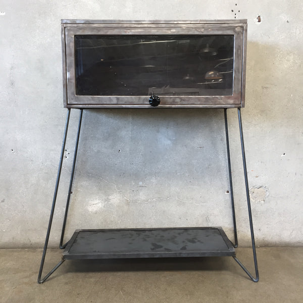 Repurposed Industrial Lawyers Bookcase