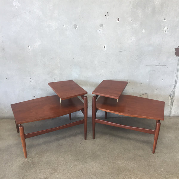 Pair of Greta Grossman for Glenn of California Side Tables