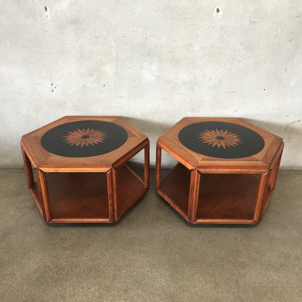 Mid Century John Keal for Brown Saltman End Tables