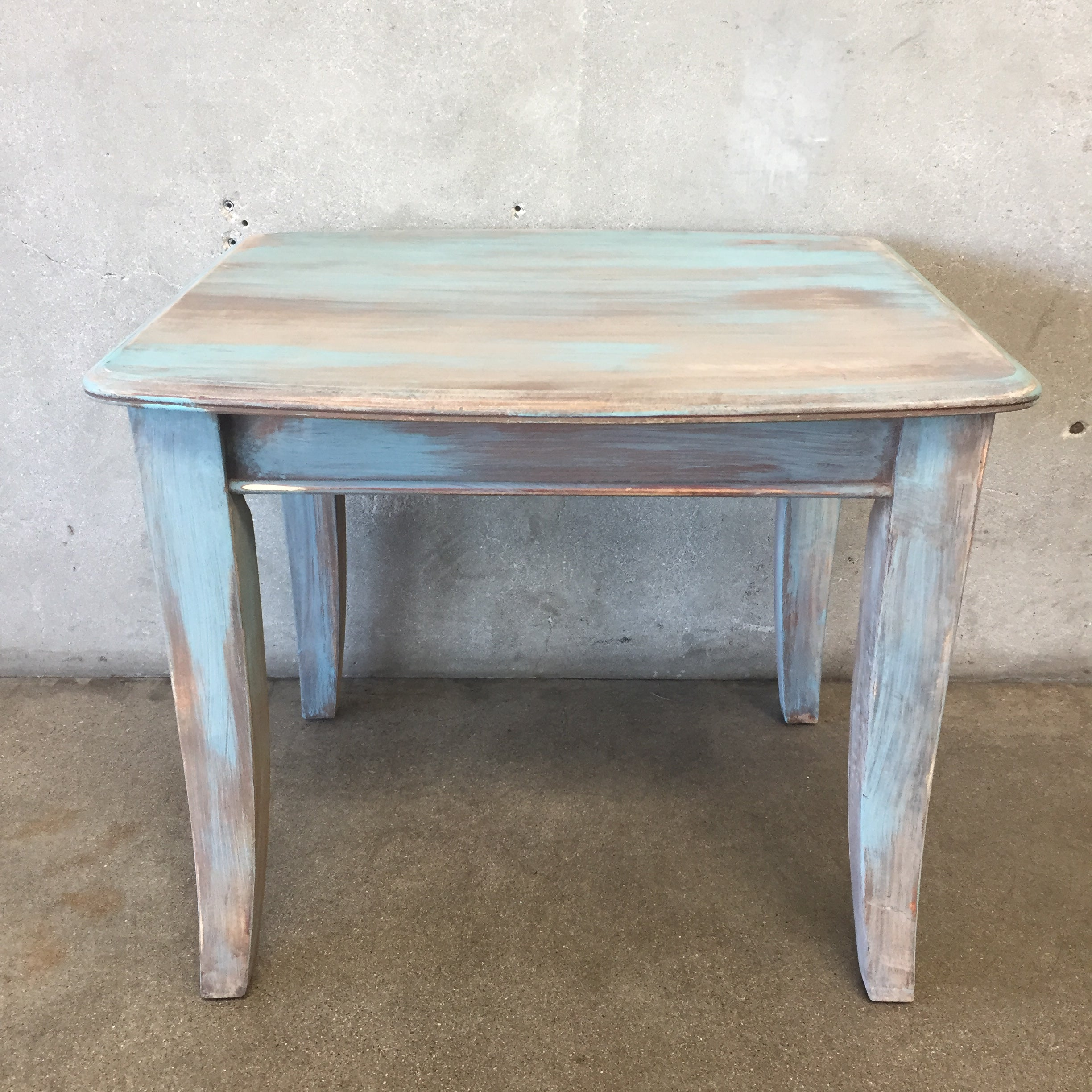 Upcycled Side Table ...