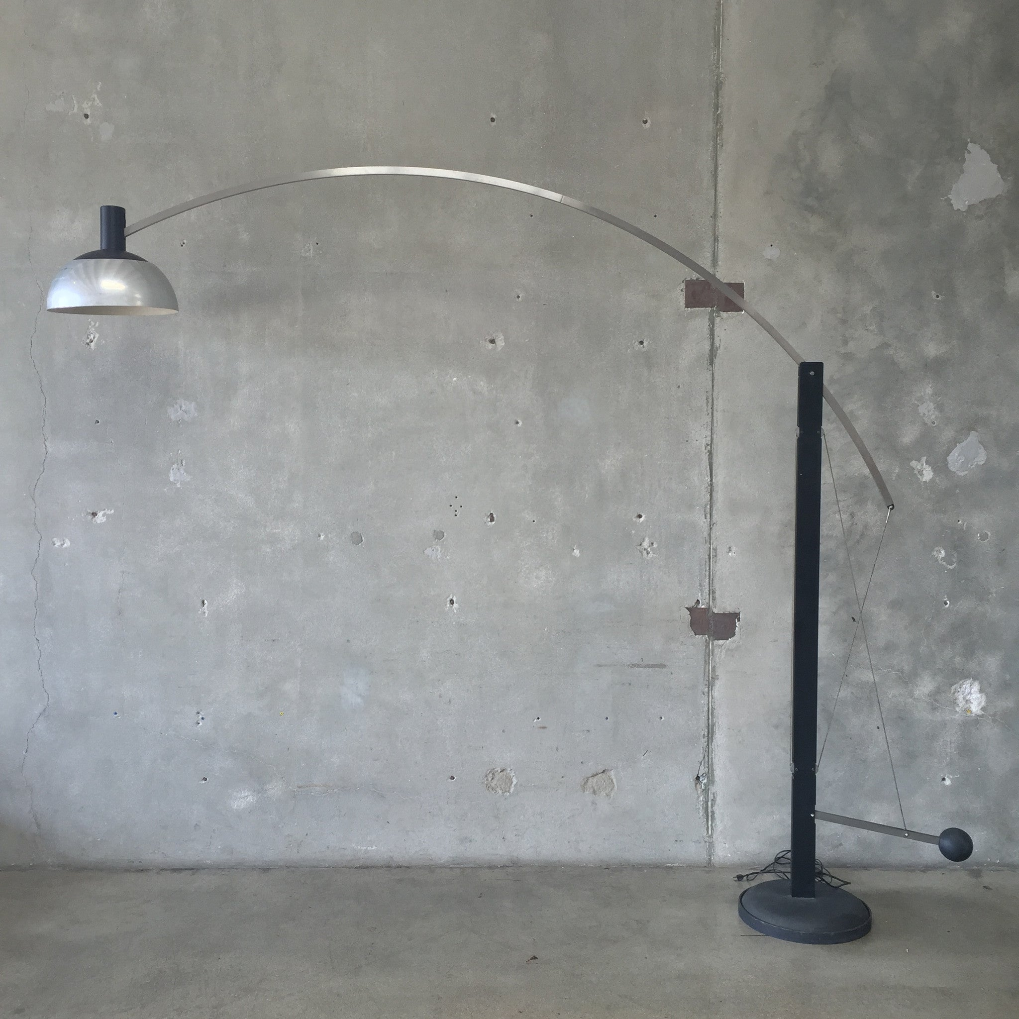 outdoor led bulbs mid century robert sonneman arc lamp urbanamericana 29326