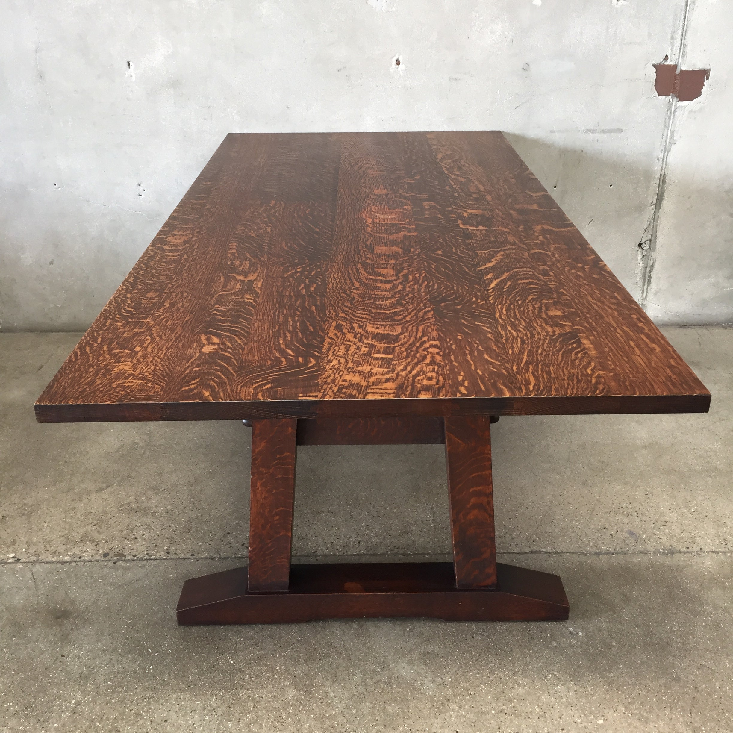 Warren Hile American Craftsman Dining Table Chairs
