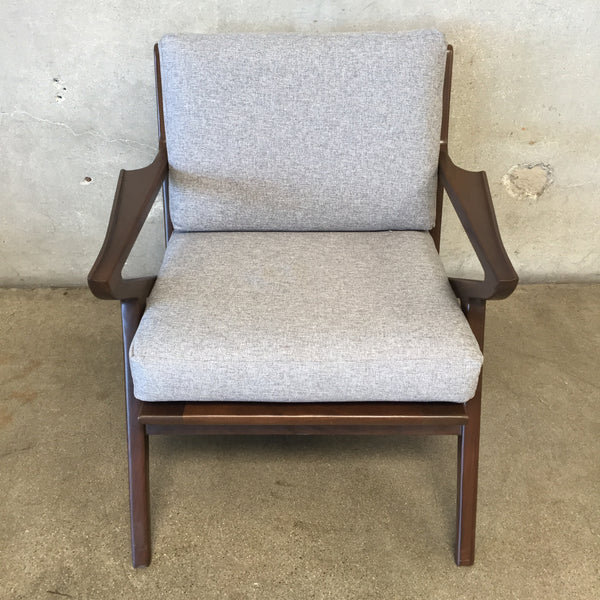 Mid Century Style Soto Concave Arm Chair by Joy Bird