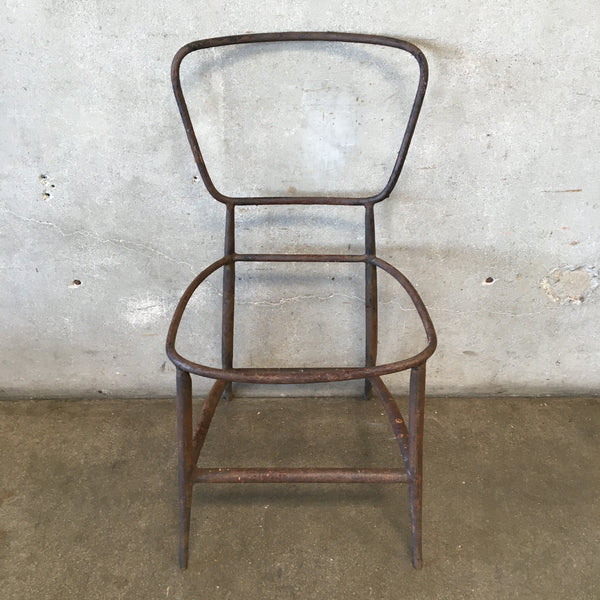 Vintage Metal Chair Frame