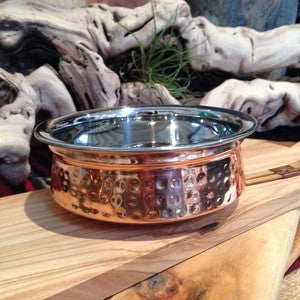 Handi Copper and Stainless Steel Bowls