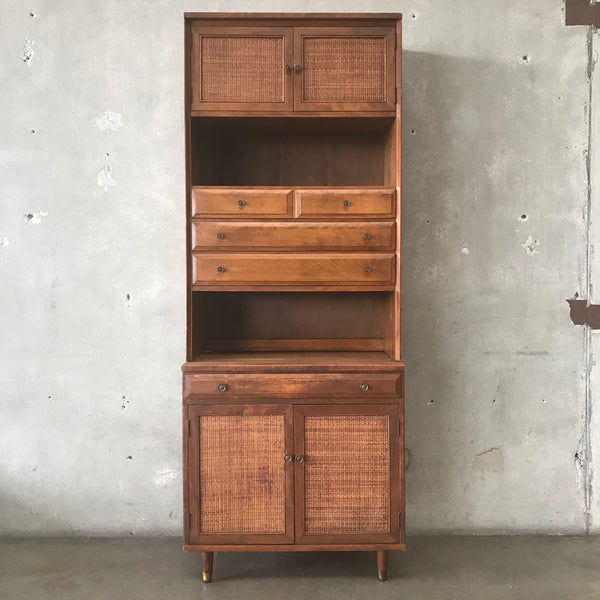 Mid Century Two Piece Cabinet by Baumritter
