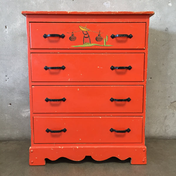 Monterey Four Drawer Dresser
