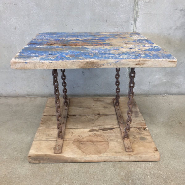 Vintage Chain Table