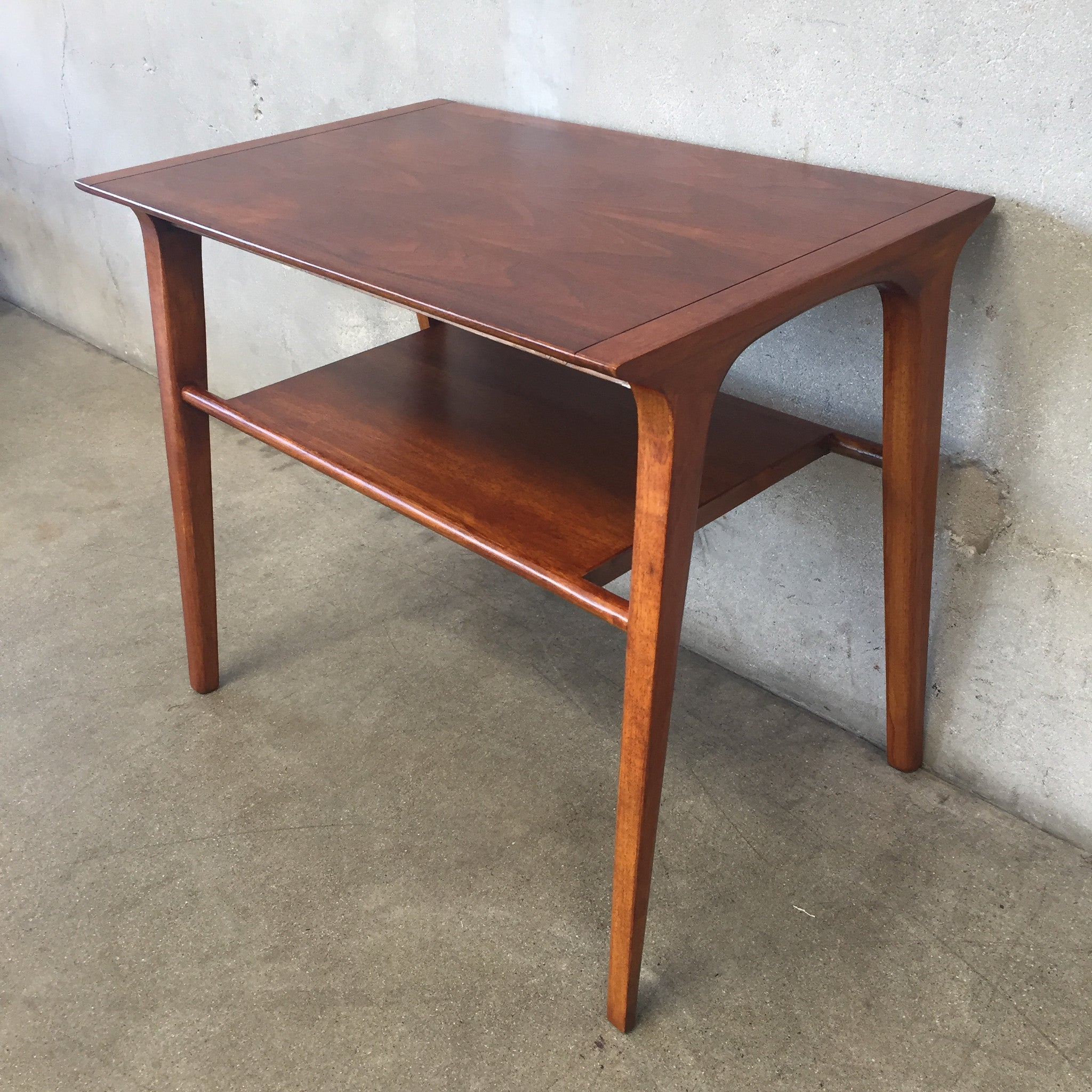 mid century side table by drexel