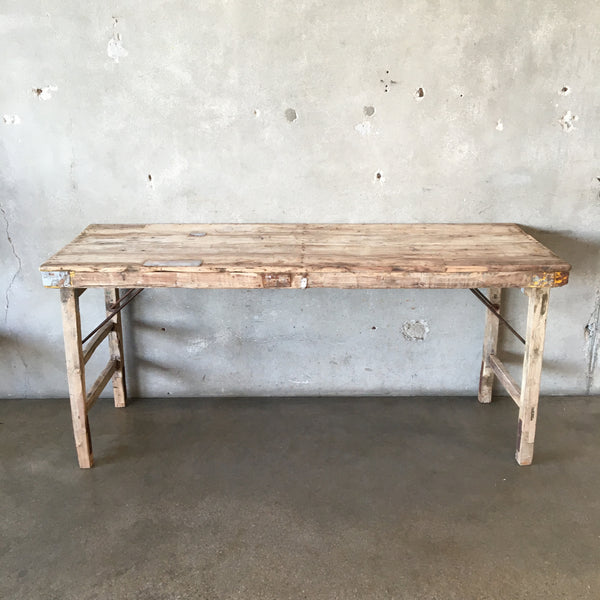 Vintage Wedding Folding Table  (#1)