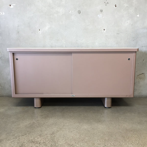 1950's Metal Credenza by Hillside Metal Products