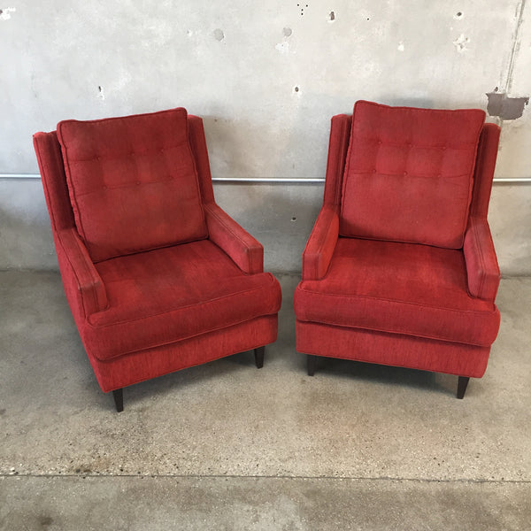 Pair of 1960's Lounge Chairs