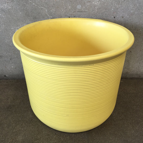 Mid Century Yellow Gainey Pot