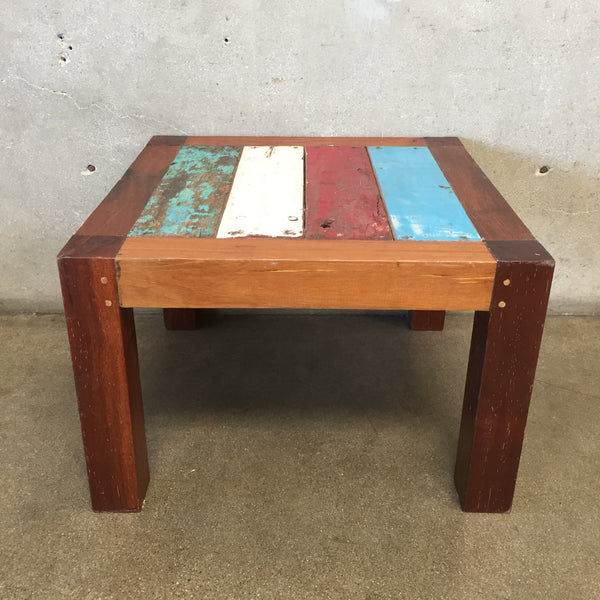 Reclaimed Wood Teak Table