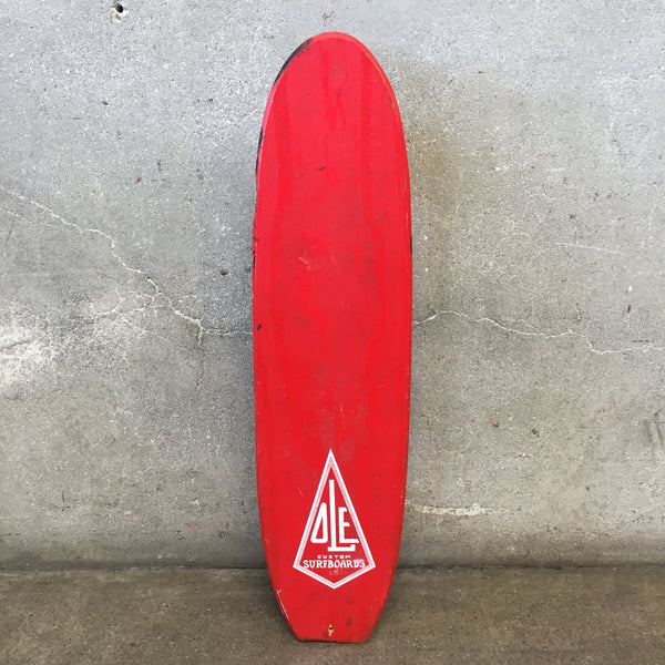 Vintage OLE Custom Surfboards Skateboard