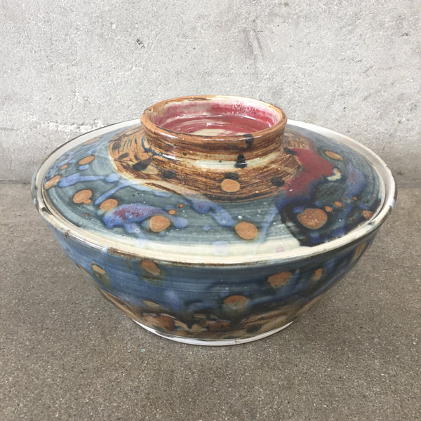 1960's Studio Pottery with Lid