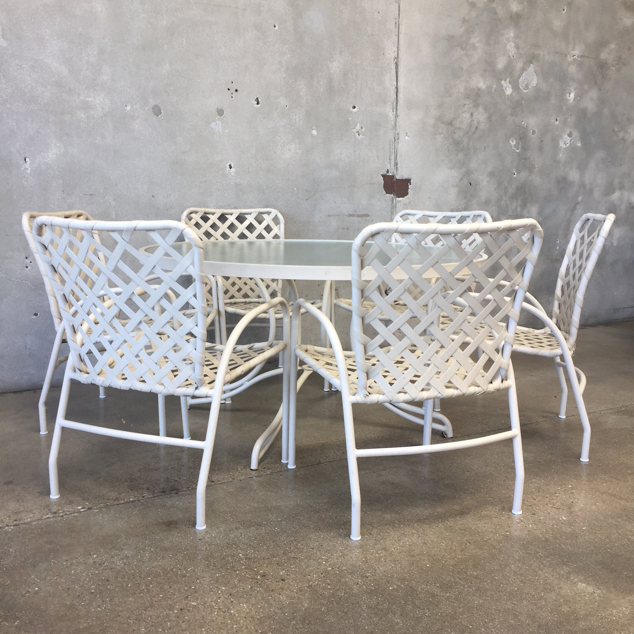 ... Vintage Brown Jordan Patio Dining Set ... Part 9