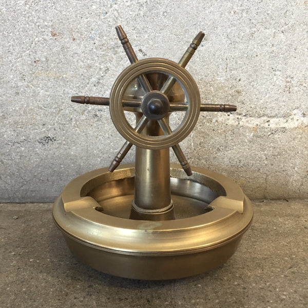 Nautical Brass Ashtray