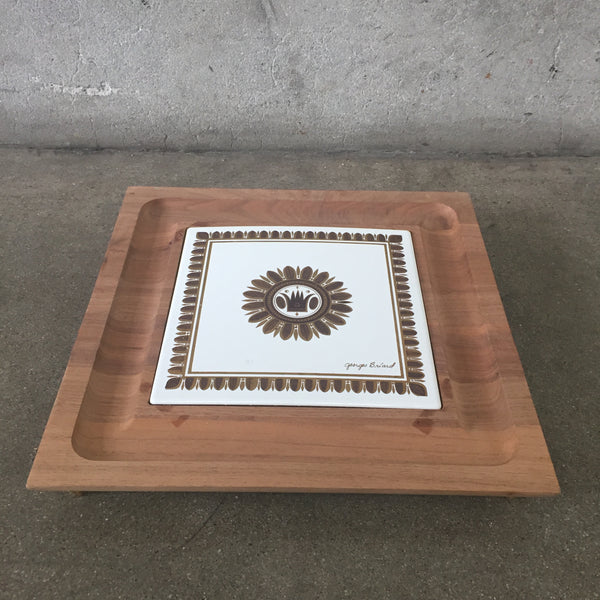 George Briard Tile Serving Board