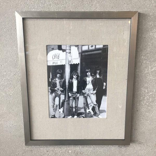 Framed Ramones Picture